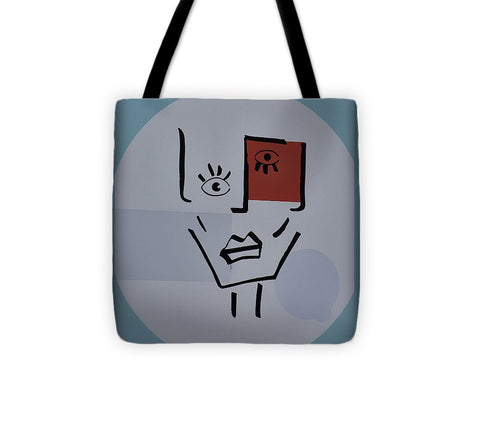 Image of Strange Woman - Tote Bag - 13 X 13 - Tote Bag