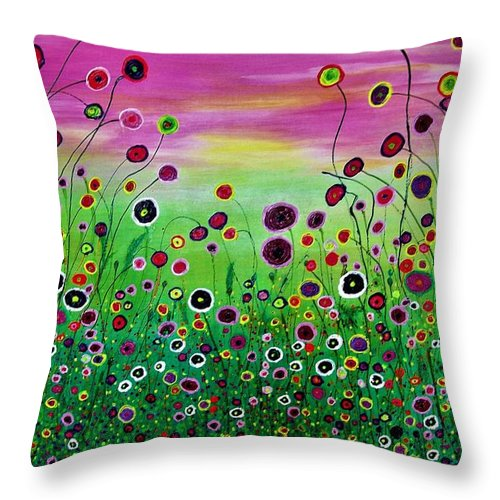 Summerfeeling - Throw Pillow