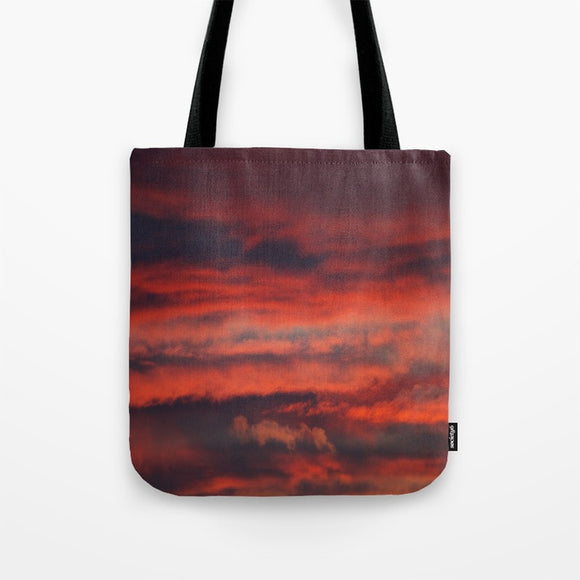 Tote Bag - Red sky