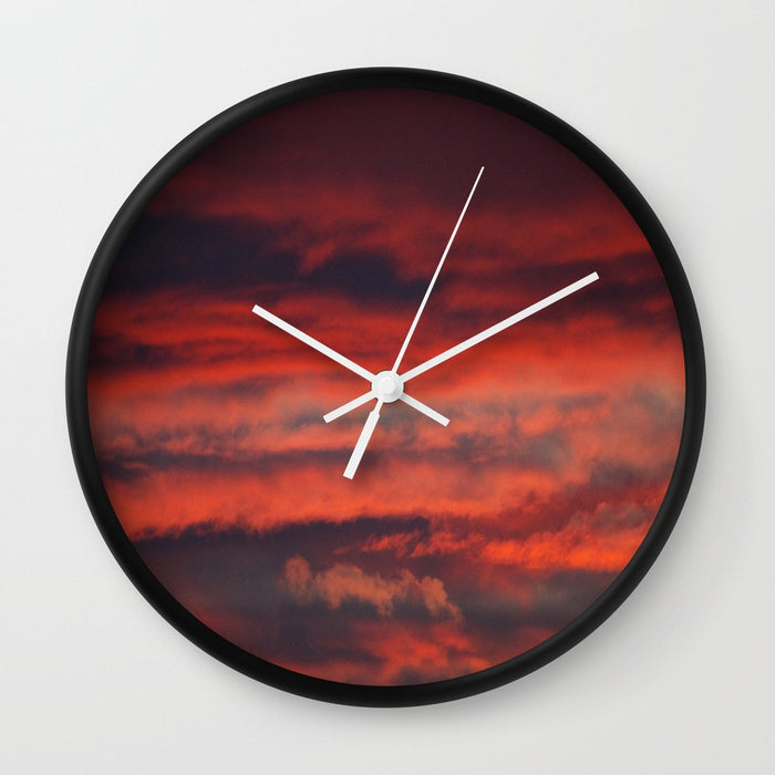 Wall Clock - Other Sunset In Canada - Wall Clock