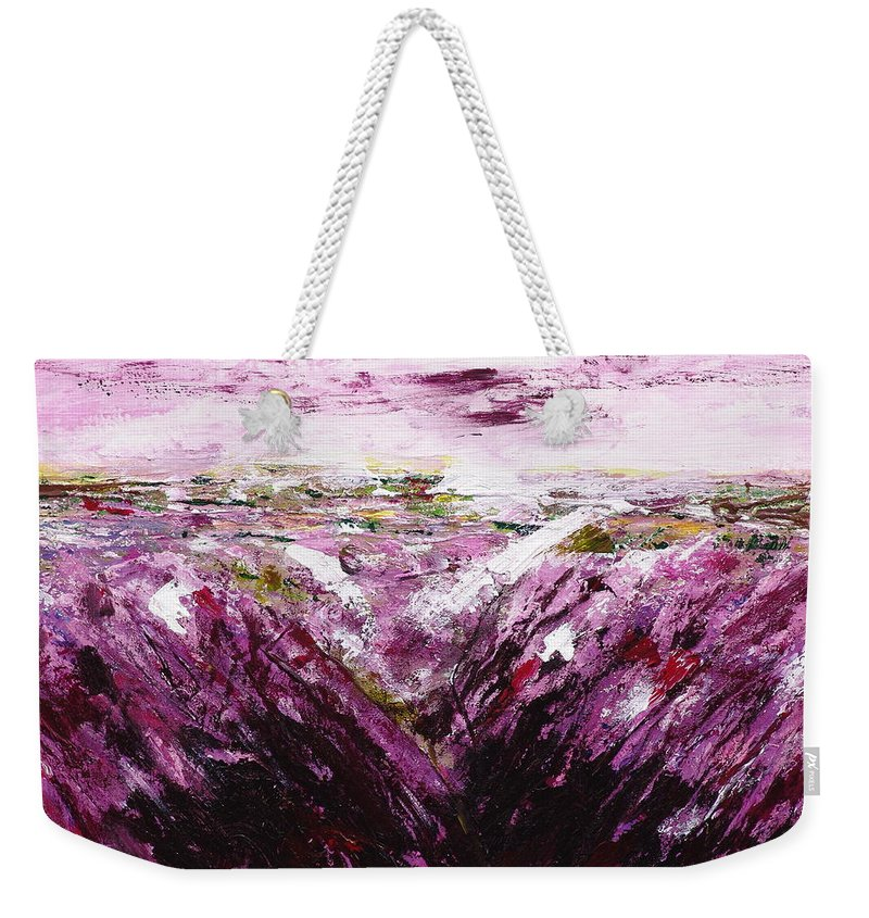 The Smell Of Lavender - Weekender Tote Bag