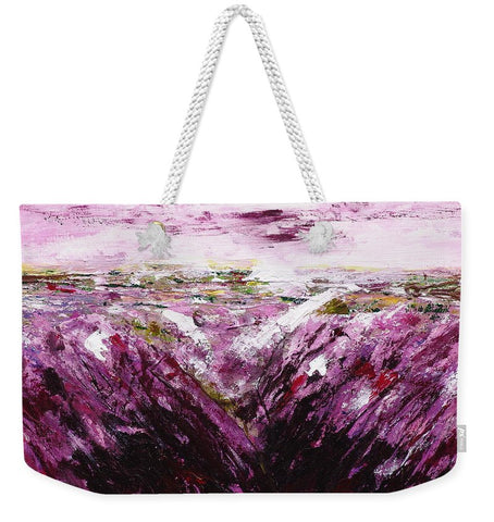 Image of The Smell Of Lavender - Weekender Tote Bag