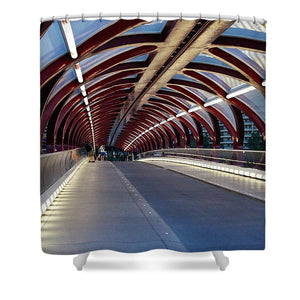 The Tunnel - Shower Curtain