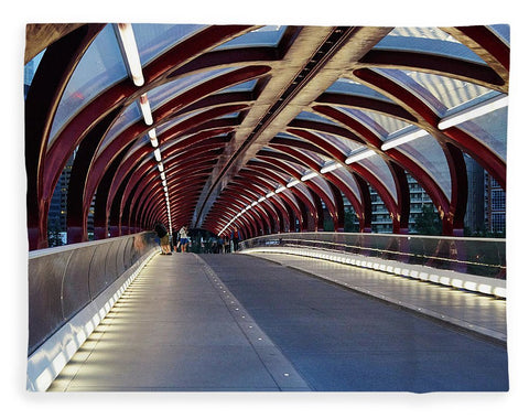 Image de The Tunnel - Couverture - 60 X 80 / Plush Fleece - Couverture