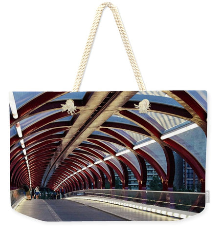 Image de The Tunnel - Sac fourre-tout Weekender - 24 X 16 / Natural - Sac fourre-tout Weekender