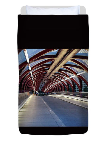 Image of The Tunnel - Duvet Cover - Twin - Duvet Cover
