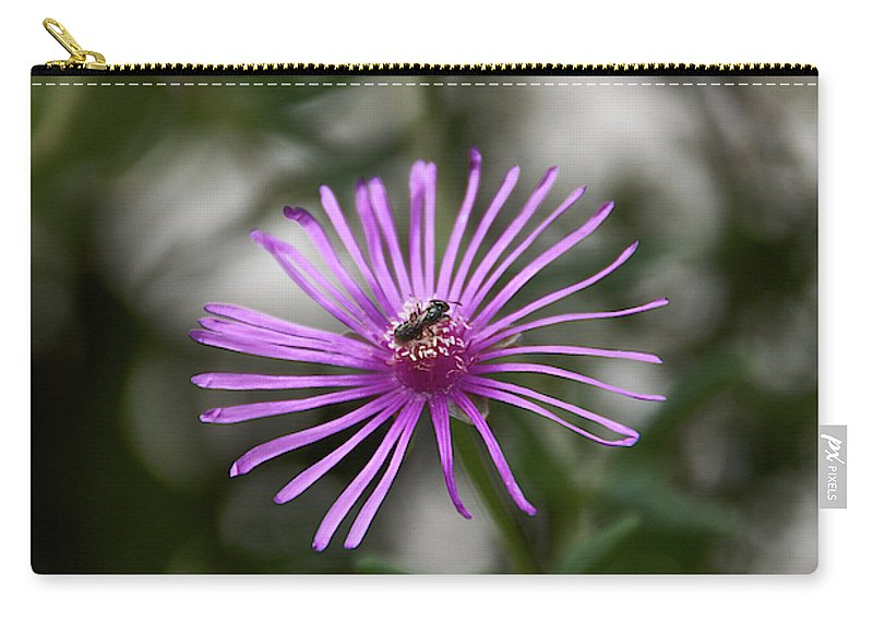 Very Nice Flower - Carry-All Pouch - Medium (9.5 X 6) - Carry-All Pouch