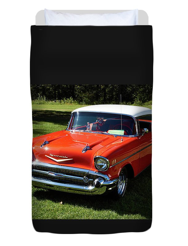 Vintage Car - Duvet Cover - Twin - Duvet Cover