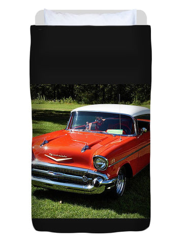 Image of Vintage Car - Duvet Cover - Twin - Duvet Cover
