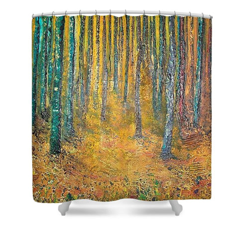 Walk With Me - Shower Curtain