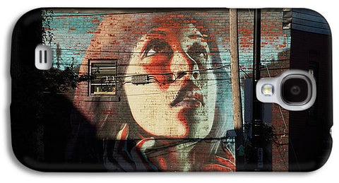Woman On The Wall - Phone Case - Galaxy S4 Case - Phone Case