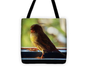 Yellow Bird - Tote Bag - 13 X 13 - Tote Bag