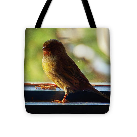 Yellow Bird - Tote Bag - 16 X 16 - Tote Bag