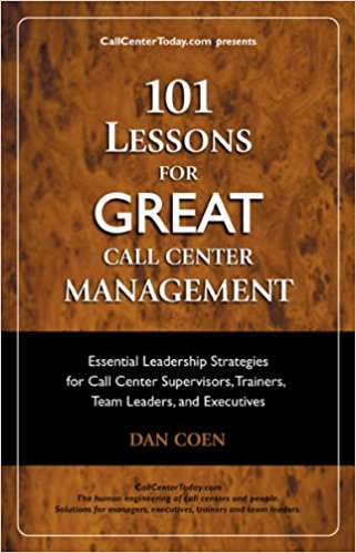 101 Lessons for GREAT Call Center Management e-book