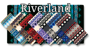 "Mayatex Riverland Wool Blanket - 36"" x 34"" - Elk Hollow Designs"