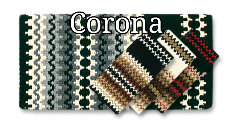 Mayatex Corona Wool Saddle Blanket 38x34 - Elk Hollow Designs