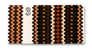 Mayatex Gemini Show Saddle Blanket - 40x34 - Elk Hollow Designs