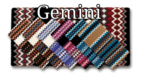 Mayatex Gemini Show Saddle Blanket - 40x34