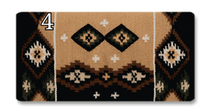 Mayatex Square-Cut Show Saddle Blanket- 38x34 - Elk Hollow Designs