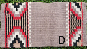 Wool Saddle Blankets 36x34