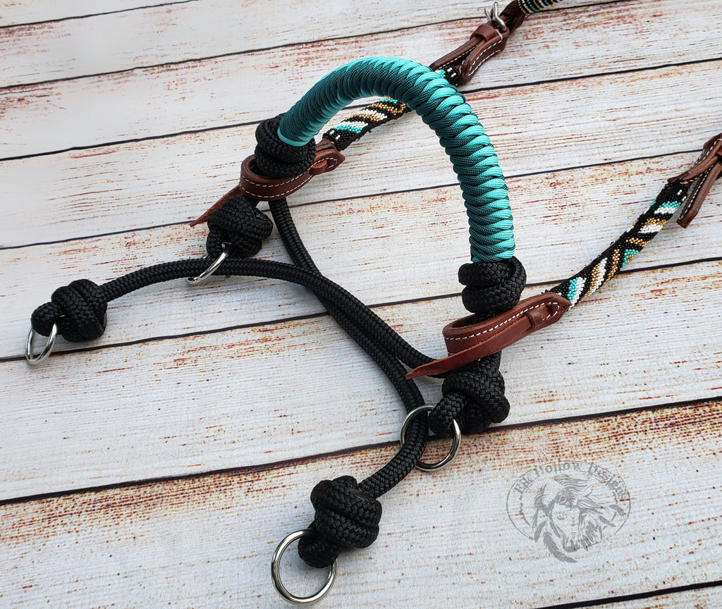 Indian Hackamore - Indian Bosal - Elk Hollow Designs