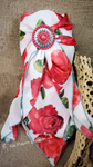 Rose Garden Wild Rag Scarf - Elk Hollow Designs