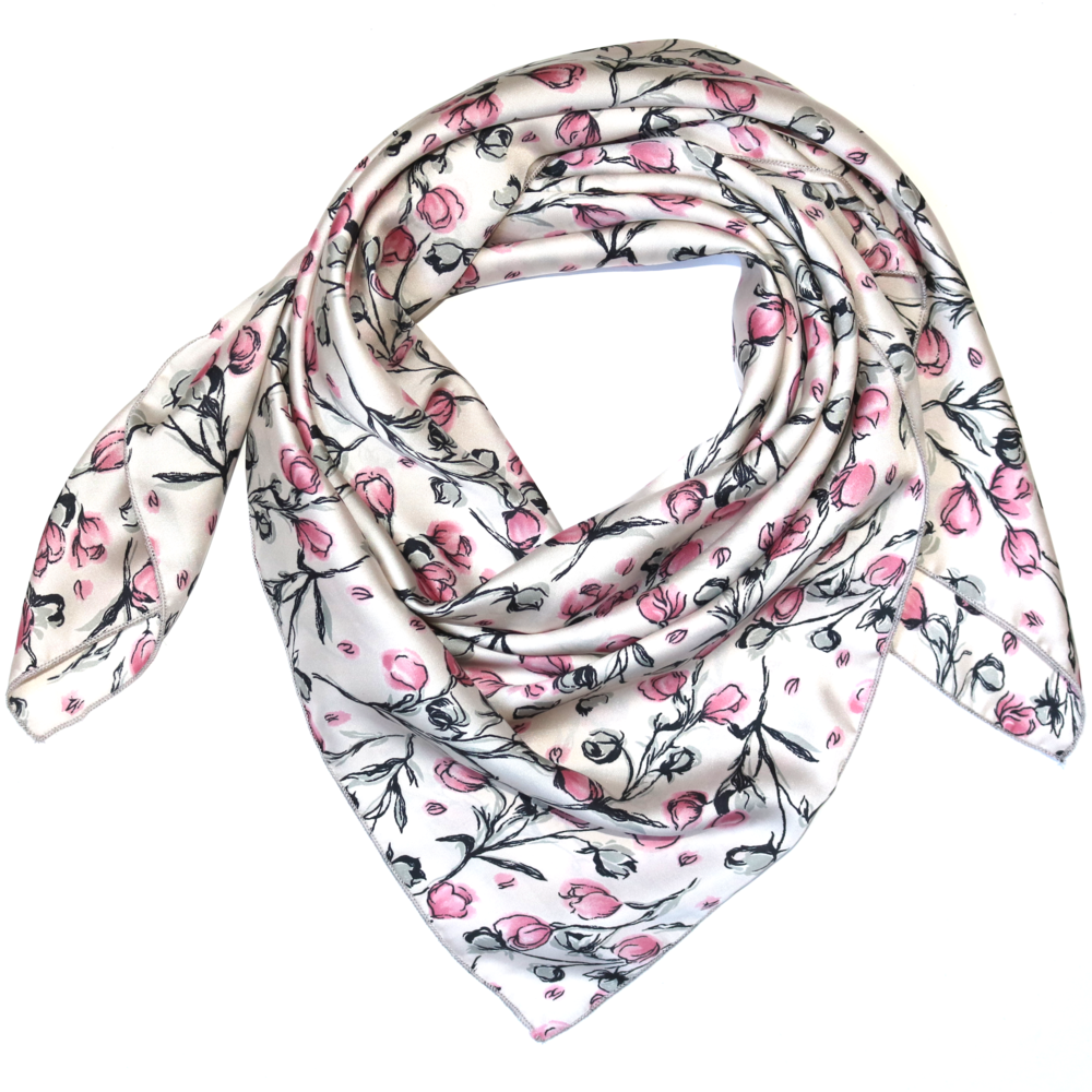 Whipin Wild Rags® TWO LIPS: TULIP FLORAL WILD RAG