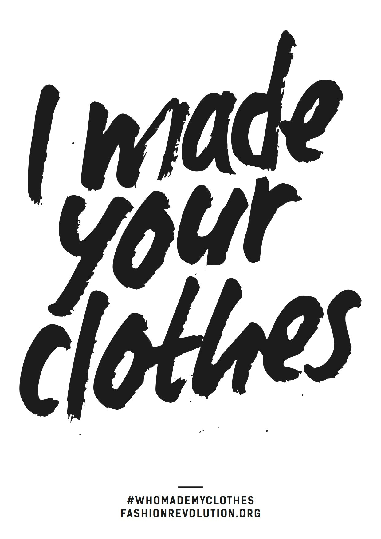 I Made Your Clothes