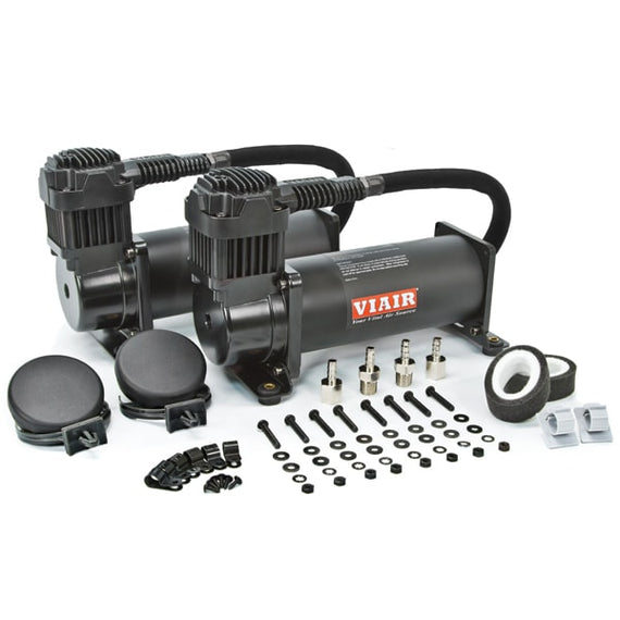 Viair 444C Dual Chrome Compressors 200 PSI (BLACK/CHROME)