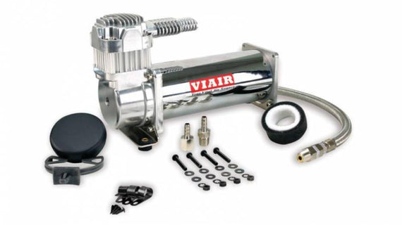 Viair Single 444C Compressor 200 PSI (BLACK/CHROME)