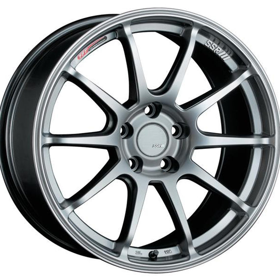 SSR GTV02 18x9.5 5x100 40mm Offset Flat Black Wheel FRS / BRZ