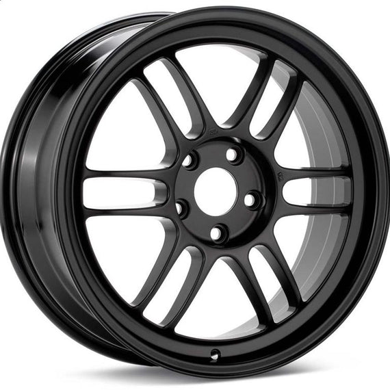Enkei RPF1 18x9.5 5x114.3 15mm Offset 73mm Bore Black Wheel