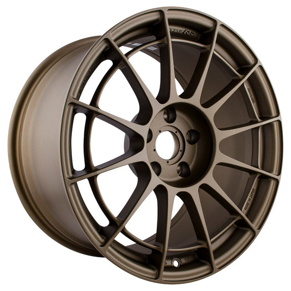 Enkei NT03RR 18x9.5 5x114.3 27mm Offset 75mm Bore - Titanium Gold