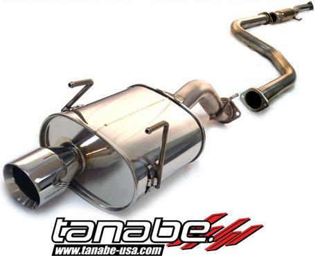 Tanabe Medallion Touring Catback Exhaust 92-95 Civic Hatchback