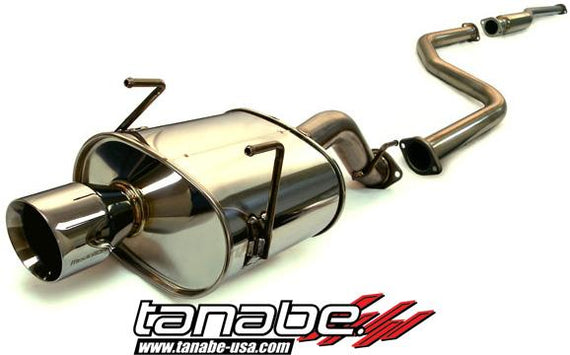 Tanabe Medallion Touring Catback Exhaust 96-00 Civic Hatchback