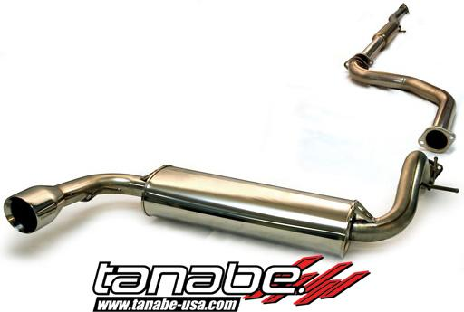 Tanabe Medallion Touring Catback Exhaust 88-91 Civic Hatchback
