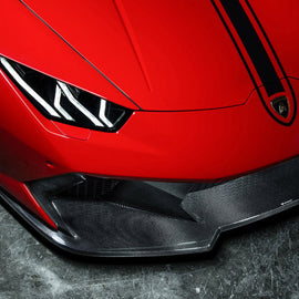 Vorsteiner Huracan Novara Edizione Front Bumper CF Incl. Carbon Fiber front Spoiler PP 2x2 Glossy
