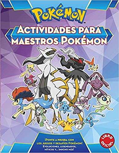 See all 2 images Actividades para maestros pókemon / Pokemon All-Star Activity Book (Pokémon) (Marzo 28, 2017) - libros en español - librosinespanol.com