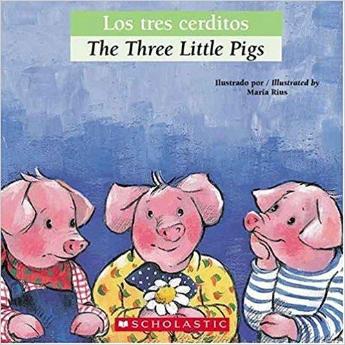 Bilingual Tales: Los tres cerditos / The Three Little Pigs (Spanish Edition) by Luz Orihuela (Septiembre 1, 2006) - libros en español - librosinespanol.com