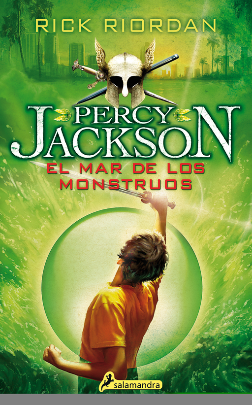 Percy Jackson 02. El mar de los monstruos (Percy Jackson y los dioses del olimpo / Percy Jackson and the Olympians) by Rick Riordan (Julio 1, 2015)