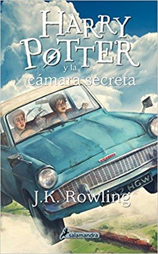 Harry Potter y la camara secreta (Harry 2) by J. K. Rowling (Julio 1, 2015)
