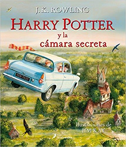 Harry Potter y la camara secreta Ilustrado by J. K. Rowling (Abril 30, 2017)