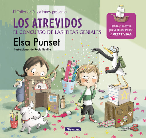 Los atrevidos y el concurso de las ideas geniales / The Daring and the Genius Ideas Contest (El Taller de Emociones / Workshop of Emotions) by Elsa Punset (Marzo 27, 2018) - libros en español - librosinespanol.com