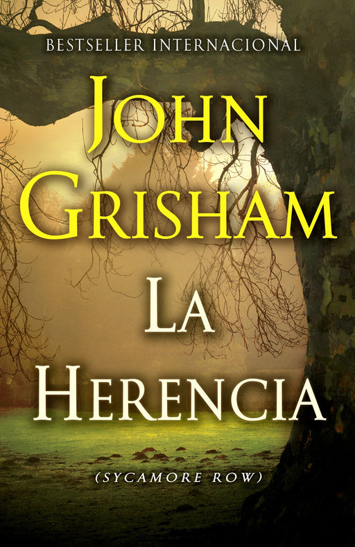 Ficción - La Herencia: (The Inheritance: Sycamore Row- Spanish-language Edition) By John Grisham (Diciembre 2, 2014)