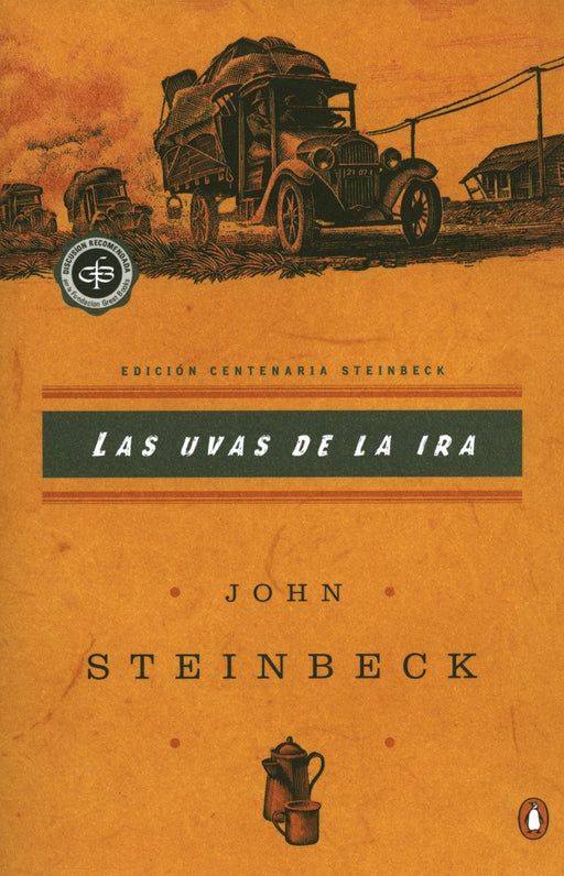 Ficción - Las Uvas De La Ira: (Spanish Language Edition Of The Grapes Of Wrath) (Critical Library, Viking) (Spanish Edition) By John Steinbeck  (Agosto 6, 2002)