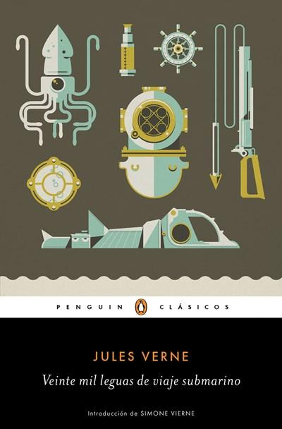 Ficción - Veinte Mil Leguas De Viaje Submarino / Twenty Thousand Leagues Under The Sea (Penguin Clasicos) (Spanish Edition) By Jules Verne (Marzo 28, 2017)