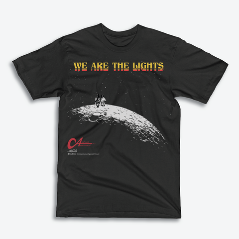 "Limited Edition : 石原 x Neoncity Records - Android Apartment ""We Are The Lights"" Tee"