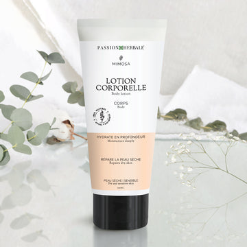 Lotion corporelle Mimosa | Hydrate en profondeur - Passion Herbale