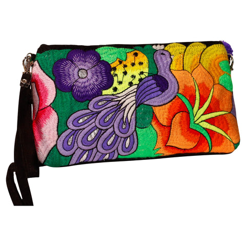 Catalina Embroidered Clutch Bag