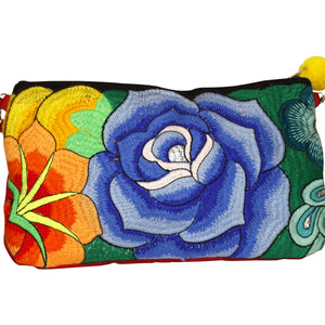 Agustina Embroidered Clutch Bag